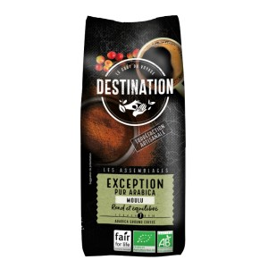 Exception Pur Arabica Bio FFL - Moulu Filtre - 500g