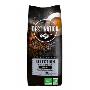 Sélection Pur Arabica Bio - Grain - 500g