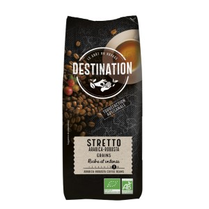 Stretto Arabica Robusta Bio - Grain - 1kg