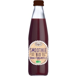 Smoothies Pomme-Myrtille -25cl